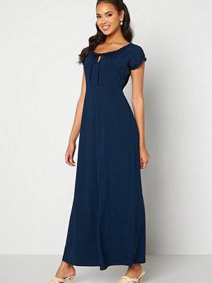 Happy Holly Tessie maxi dress Dark blue