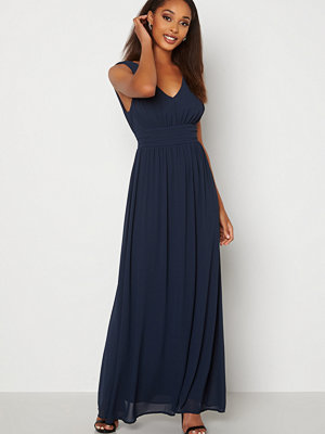 Vila Milina Long Dress Total Eclipse