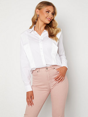 Selected Femme Bello LS Shirt Bright White