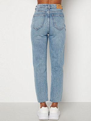 Only Emily Life HW Jeans Light Medium Blue De