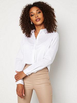 Skjortor - Jacqueline de Yong Mio L/S Shirt White