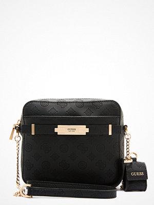 Guess svart axelväska Bea Camera Bag BLA Black
