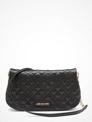 Love Moschino svart axelväska Evening Bag 000 Black