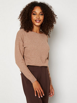 Only Prime L/S Pullover Knit Brownie