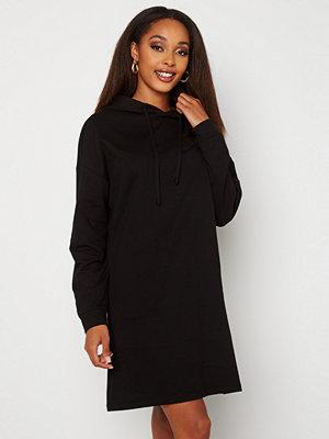 Only Dreamer Life Sweat Hood Dress Black