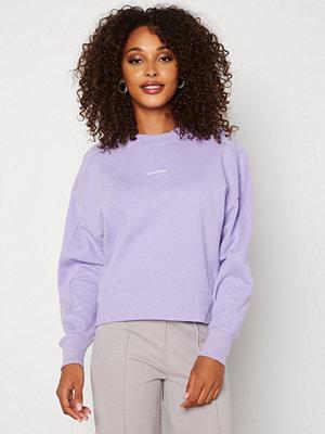 Calvin Klein Jeans Micro Branding Sweatshirt V0K Palma Lilac