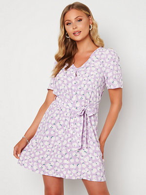 Only Dina S/S Short Dress Orchid Bloom AOP Dai