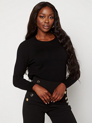 Only Lesly Kings L/S Pullover Black