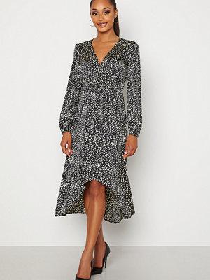 Chiara Forthi Terezia wrap dress Black / Patterned
