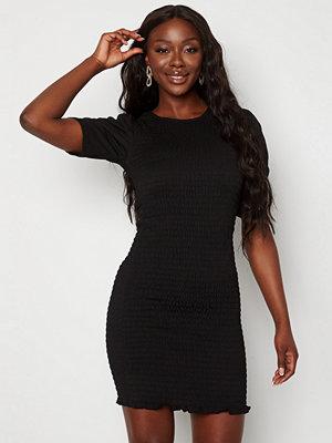 Jacqueline de Yong Badille 2/4 Smock Dress Black