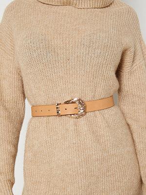 Bubbleroom Wandah belt Brown / Gold