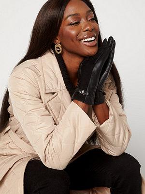 Handskar & vantar - Bubbleroom Valorie leather gloves Black