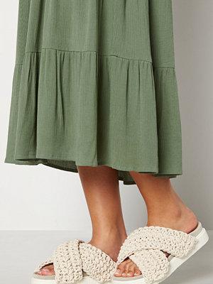 Sandaler & sandaletter - INUIKII Slipper Woven 101 White