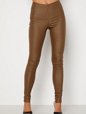 Object Collectors Item Belle Coated Leggings Sepia