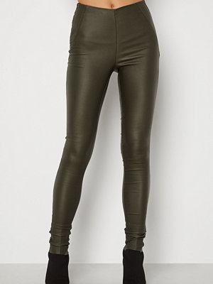 Leggings & tights - Object Collectors Item Belle Coated Leggings Forest Night