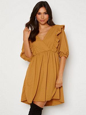 Object Collectors Item Carolyn S/S Dress Honey Mustard