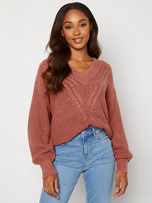Object Collectors Item Birgitha L/S Knit Withered Rose