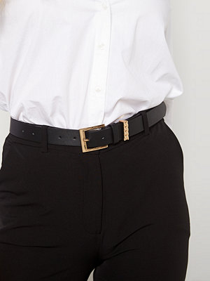 Bubbleroom Weslie chain belt Black / Gold