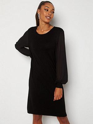Only Ofelia L/S Dress Knit Black