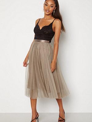 Ida Sjöstedt Flawless Skirt Soft Tulle Taupe