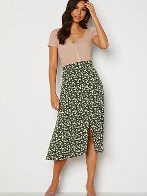 Trendyol Donna Midi Skirt Khaki