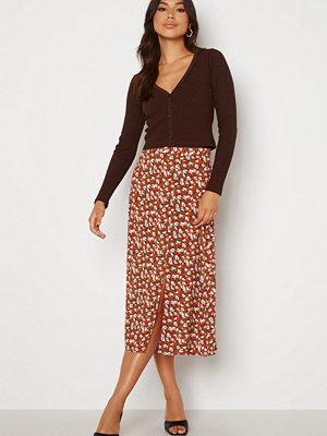 Trendyol Donna Midi Skirt Brick