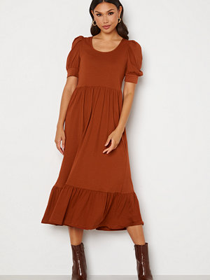 Only May Life S/S Puff Dress Arabian Spice