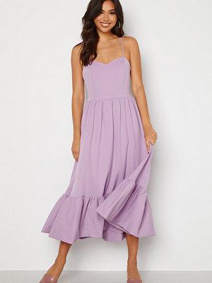 Trendyol Midi Flounce Dress Multi Color