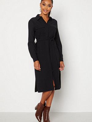Happy Holly Alina shirt dress Black