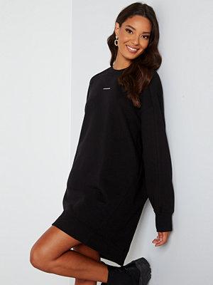 Calvin Klein Jeans Crew Neck Dress BEH Ck Black