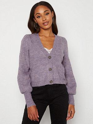 Jdy Drea L/S Short Cardigan Lavender Gray