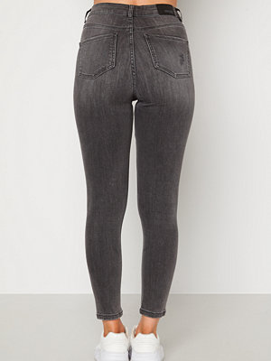 Bubbleroom Vegha distressed jeans Grey denim