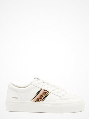 Only Liv PU Side Panel Sneaker White