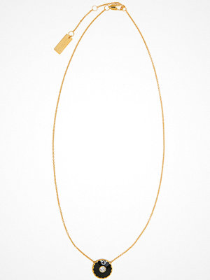The Marc Jacobs halsband The Medallion Pendant 001 Black/Gold