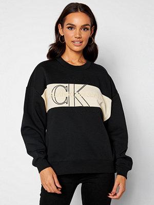 Calvin Klein Jeans Monogram Sweatshirt BEH Ck Black