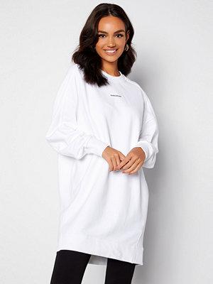 Calvin Klein Jeans Crew Neck Dress YAF Bright White