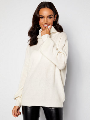 Guess Siliva Rollneck LS Sweater G012 Cream White