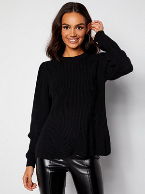 Only Stacy L/S O-Neck Pullover Black