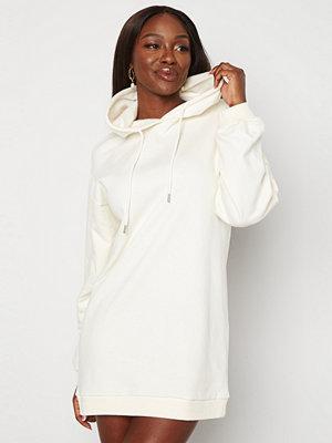 Bubbleroom Lorena sweat dress Offwhite