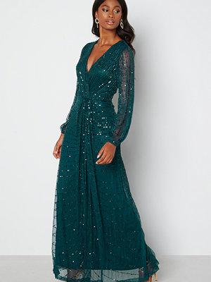Angeleye Long Sleeve Seqiun Dress Emerald