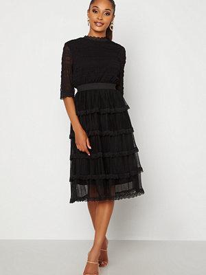 Happy Holly Agnes Lace Dress Black