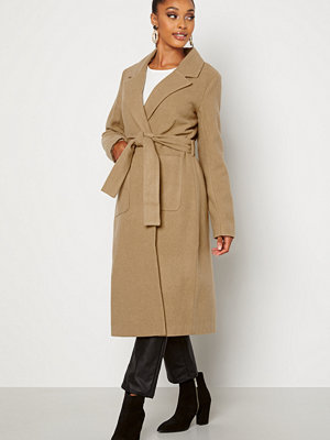 Happy Holly Claire Coat Beige