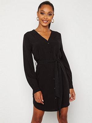 Bubbleroom Fenne shirt dress Black