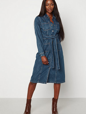 Happy Holly Ember denim dress Medium denim