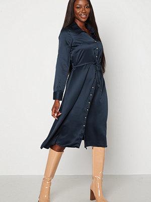 Chiara Forthi Pauline shirt dress Dark blue