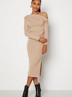 Bubbleroom Lesley skirt Light beige