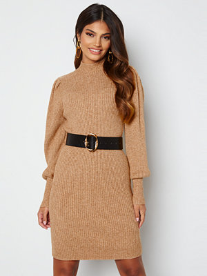 Only Katia L/S Dress Knit Toasted Coconut Mela