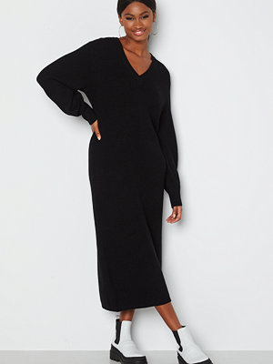 Object Collectors Item Malena L/S knit dress Black