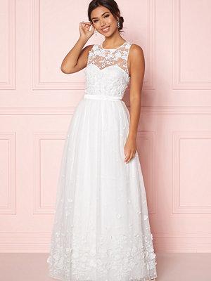 Chiara Forthi Julie flower  gown White