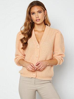 Cardigans - Object Collectors Item Pascalia 3/4 Short Knit Cardigan Bellini
